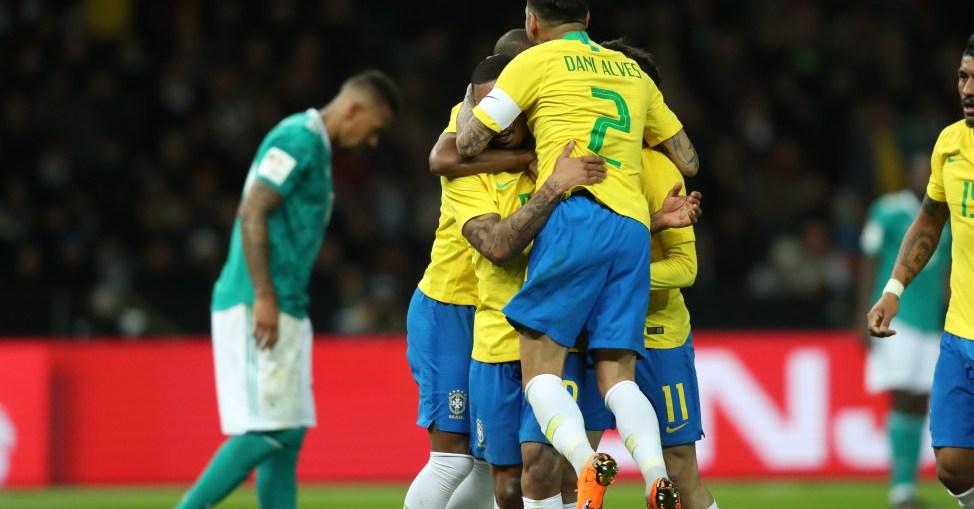 Seleção do Brasil (Foto: Reprodução)