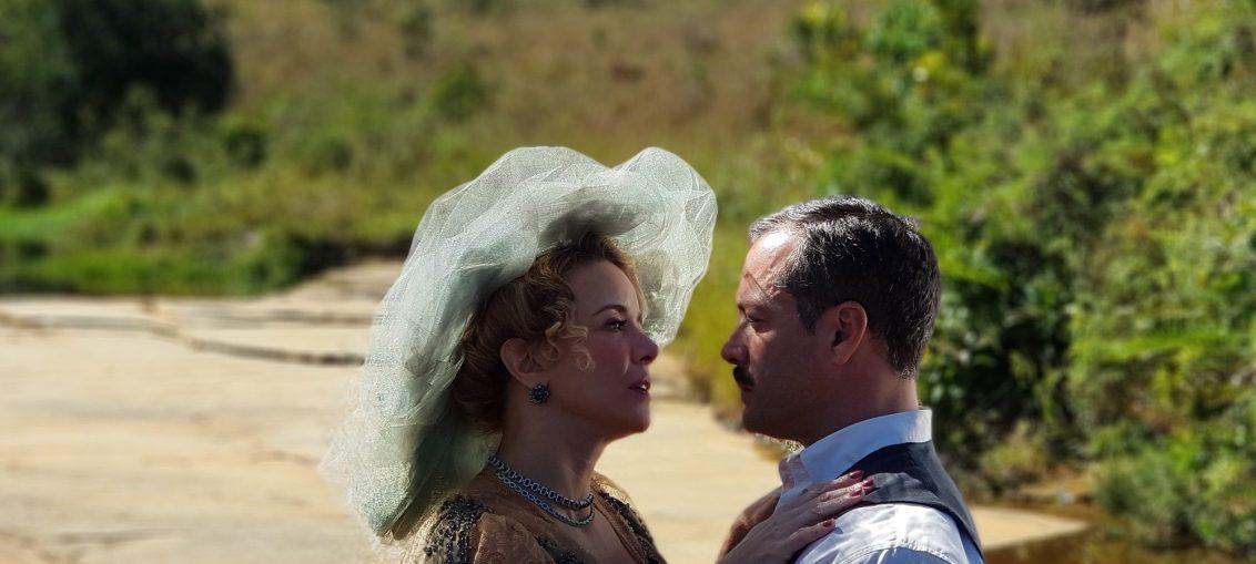Após anos, Josephine volta ao Vale do Café e deixa Brandão surpreso