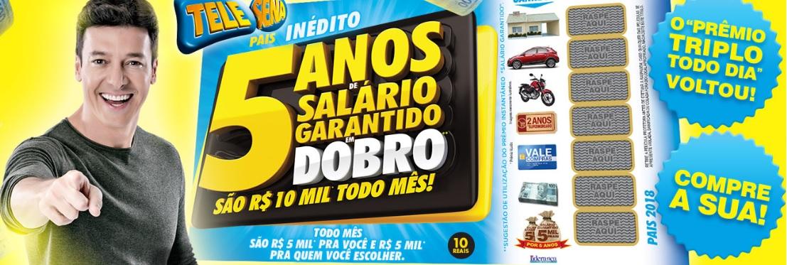 Confira o resultado do Prêmio Triplo Todo Dia da Tele Sena de Pais (01/07)