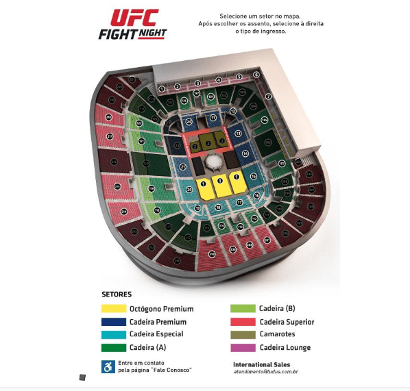 ingressos ufc fortaleza 2019 ufc fight night