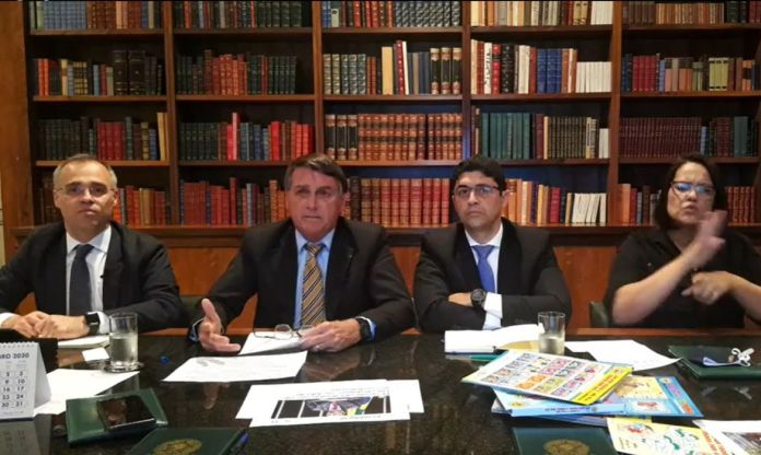 Live da semana Presidente Jair Bolsonaro, 15/10/2020