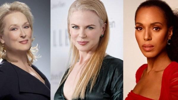 """Com Meryl Streep, Nicole Kidman e Kerry Washington, em elenco, Ryan Murphy divulga foto do filme """"The Prom"""""""