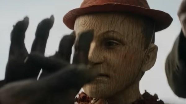 """Trailer com versão sombria de """"Pinóquio"""" é divulgado"""