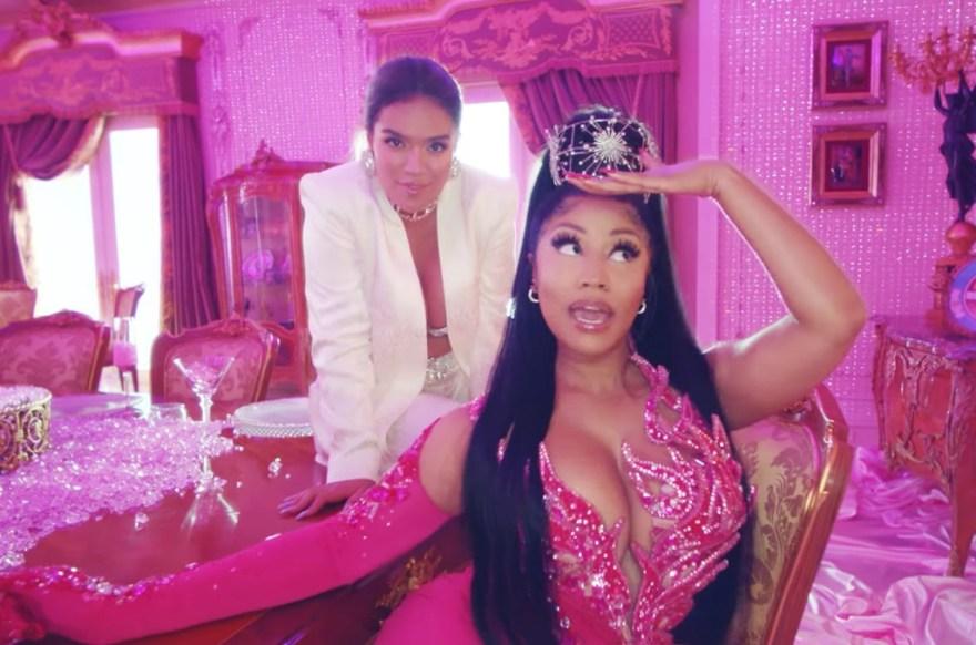 Parceria entre Nicki Minaj e Karol G está concorrendo ao SOTY do Latim Grammys!