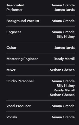 """Crítica especializada aclama Ariana Grande: ela está creditada na composição, produção e até como engenheira de seu novo single """"Positions"""""""