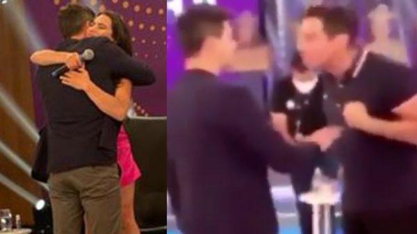Tenso! Durante gravação Raissa chora, se desespera e Léo Dias bate-boca com Rodrigo Faro