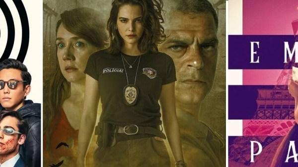 """""""The Umbrella Academy"""", """"Bom Dia, Verônica"""" e """"Emily in Paris"""" são renovadas pela Netflix"""
