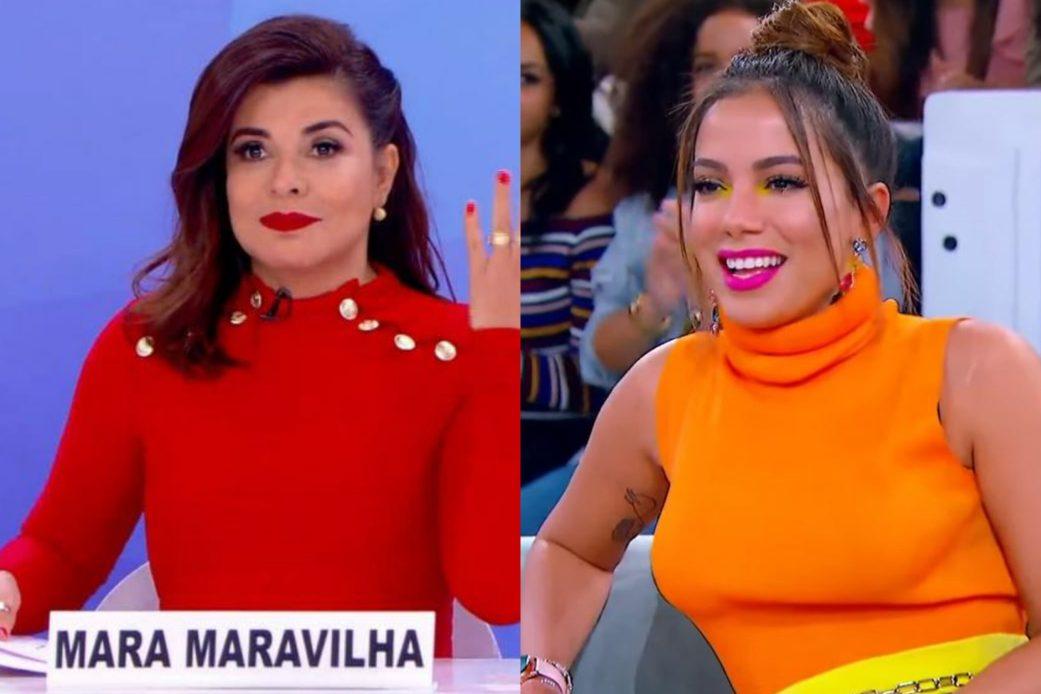 "Mara Maravilha critica veia empresarial de Anitta: ""Chata pra caramba"""