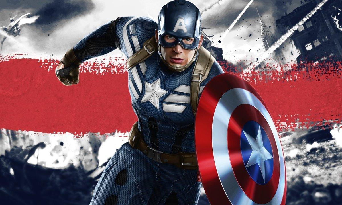 Chris Evans como Capitão América (Foto: Reprodução)
