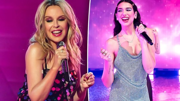 Kylie Minogue e Dua Lipa (Foto: Reprodução)