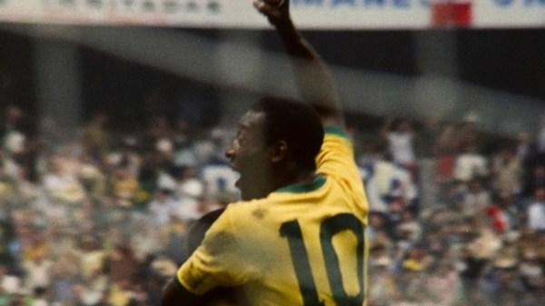 Pelé no documentário sobre ele na Neflix (Foto: Reprodução/Netflix)