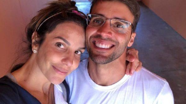 Ivete Sangalo e o marido Daniel Cady - Imagem: Reprodução