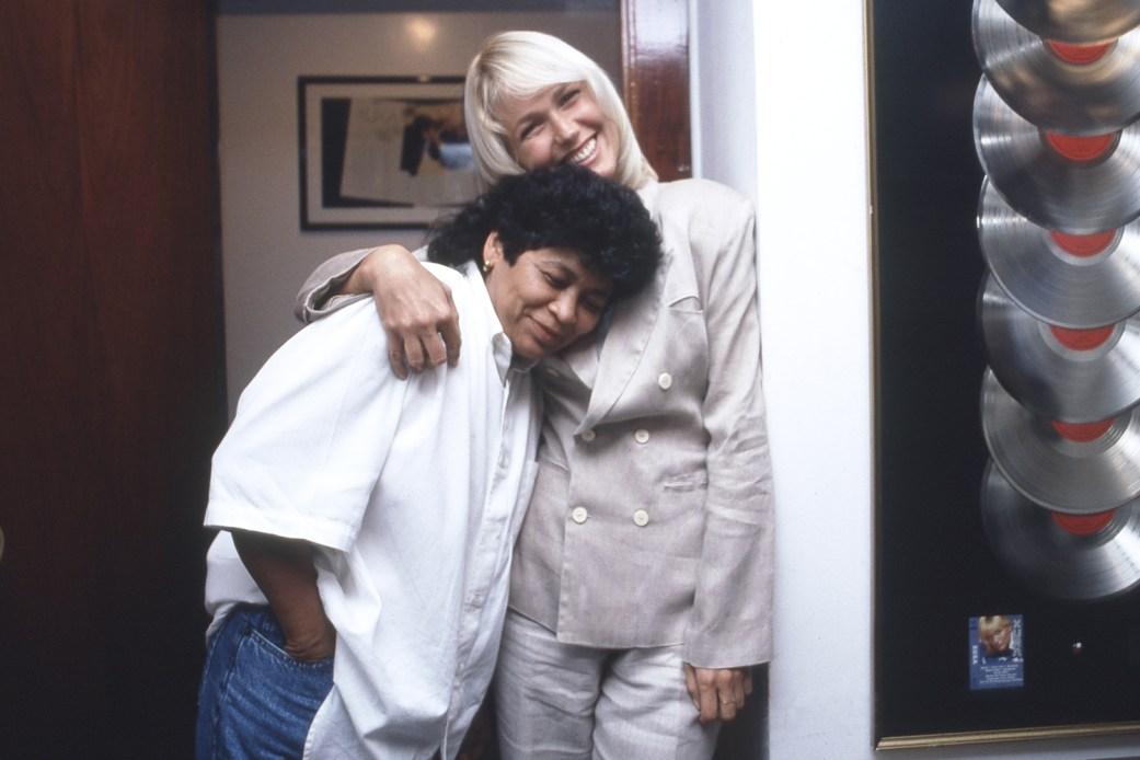 Xuxa e Marlene nos tempos de parceria - Imagem: Reprodução