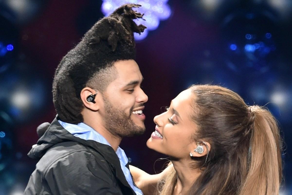 The Weeknd e Ariana Grande - Imagem: Reprodução