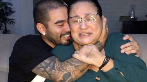 Yudi Tamashiro e a mãe Tânia - Imagem: Divulgação