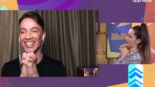 """BBB21: Juliette recebe ligação de vídeo do irmão e o questiona ao vivo: """"Você fez harmonização facial?"""""""