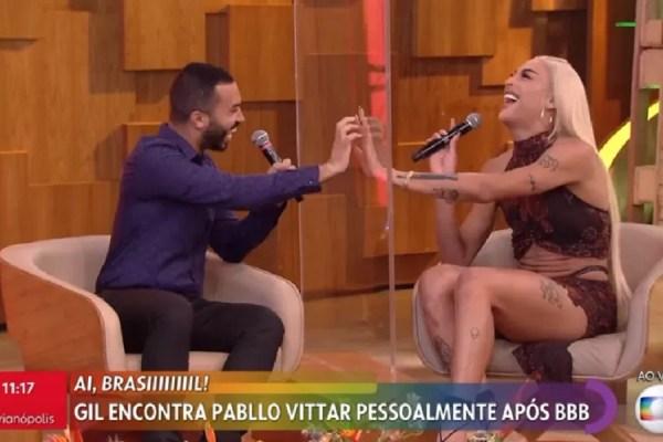 Pabllo Vittar surpreende Gil do Vigor
