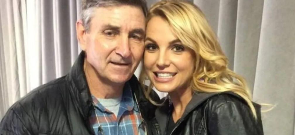 Britney Spears e seu pai Jamie - Reprodução/ Instagram