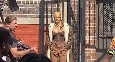 Rihanna grava clipe nova york