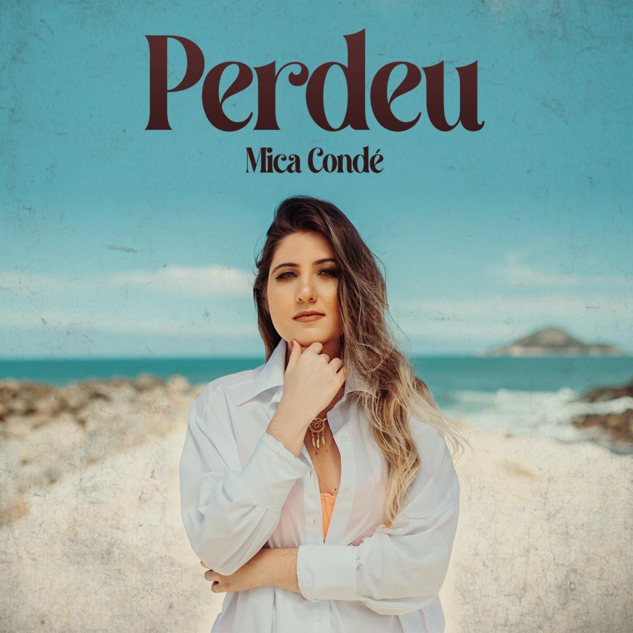 """Em nova fase de carreira, cantora Mica Condé divulga capa de seu novo lançamento """"Perdeu"""""""
