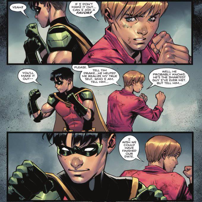 Robin se descobre bissexual em nova edição de HQ do Batman
