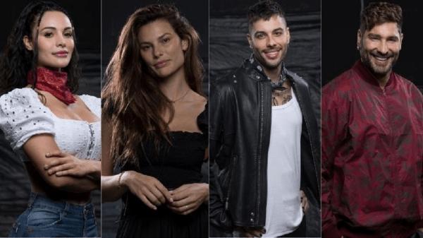 """Aline, Dayane, Gui Araujo e Victor são indicados para a quarta Roça de """"A Fazenda 13"""""""