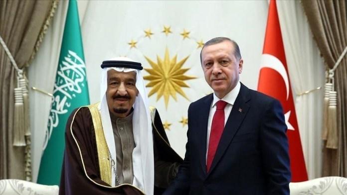 Erdogan dan Raja Salman Berbicara Melalui Telepon