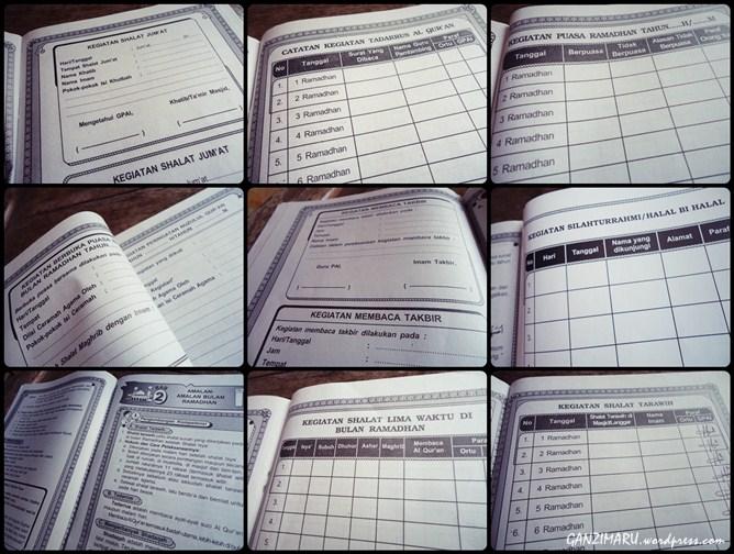 buku kegiatan ramadhan