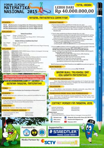Poster FIM Nasional 2015