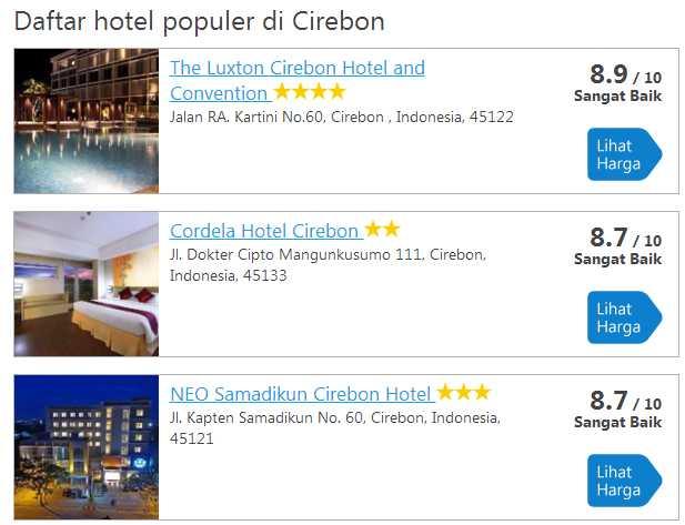 hotel traveloka cirebon
