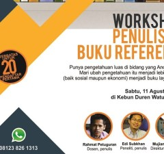 workshop penulisan buku