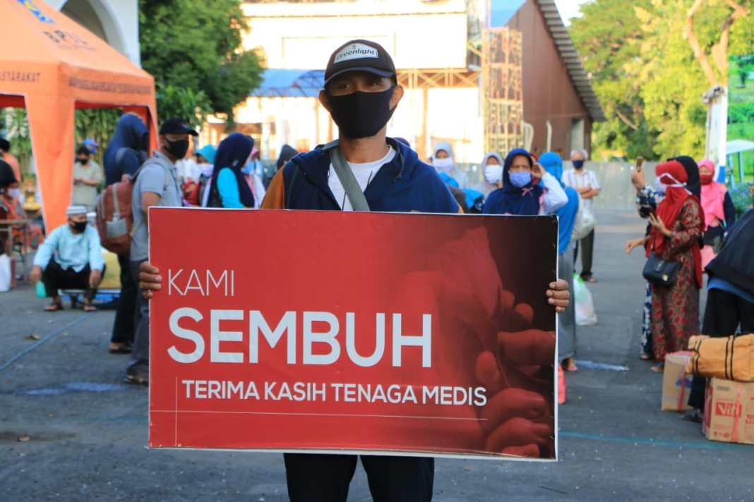 Enam Ribu Lebih Pasien Covid-19 Surabaya Sembuh