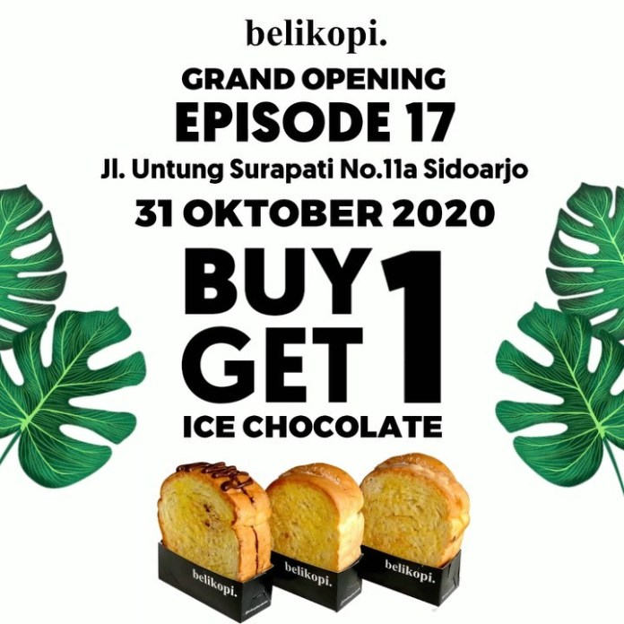 NOW OPEN belikopi Episode 17 Sidoarjo @belikopibarukamu