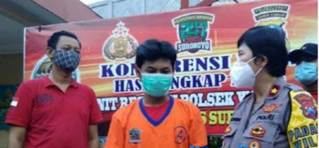 Rasa Cemburu Buta, Pria Surabaya Tega Aniaya Kekasih di Sekujur Tubuhnya