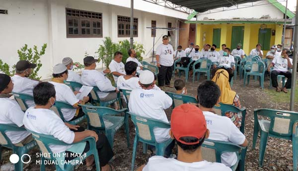 Relawan Tingkat Korcam Kordes Taman dan Sukodono Bertekad Memenangkan Berkelas