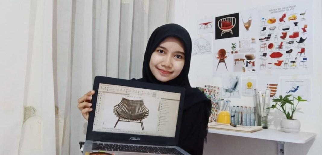 Gunakan Ide Lokal, Karya Mahasiswi ITS Raih Penghargaan