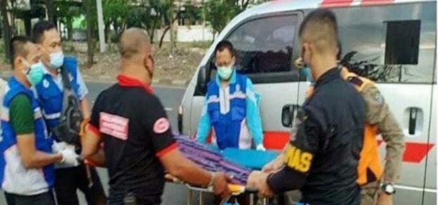 Sadis !!! Aksi Jambret Jalanan Surabaya, Korban Bandit Jatuh Tergeletak di Margomulyo