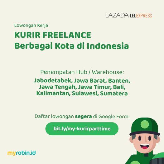 Lowongan Kerja Kurir Freelance Penempatan Berbagai Kota Di Indonesia Myrobin Bekerjasama Deng Portal Berita Sidoarjo