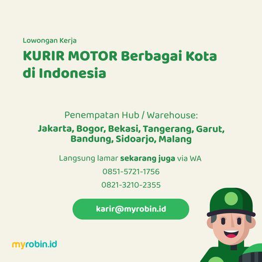 1618312464 681 Lowongan Kerja Kurir Penempatan Jakarta Bogor Bekasi Tangerang Garut Bandung