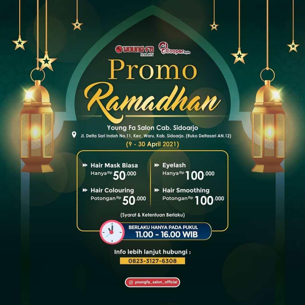 PROMO RAMADHAN!!  Hi dear, ada promo menarik loh selama bulan ramadhan ini. Apa saja sih promon…
