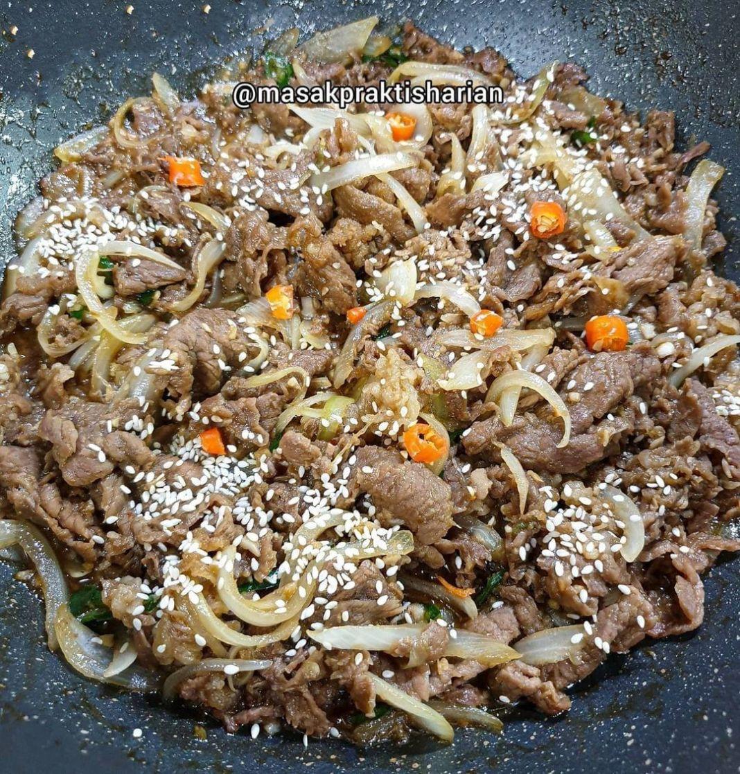 Info kuliner, Ini nih resep beef teriyaki, gampang banget cocok untuk buka puasa nanti! Beef Teriyaki  Bahan: …