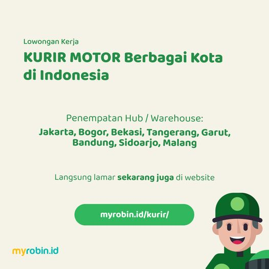 Lowongan Kerja Kurir Lazada Express Penempatan Jakarta Bogor Bekasi Tangerang