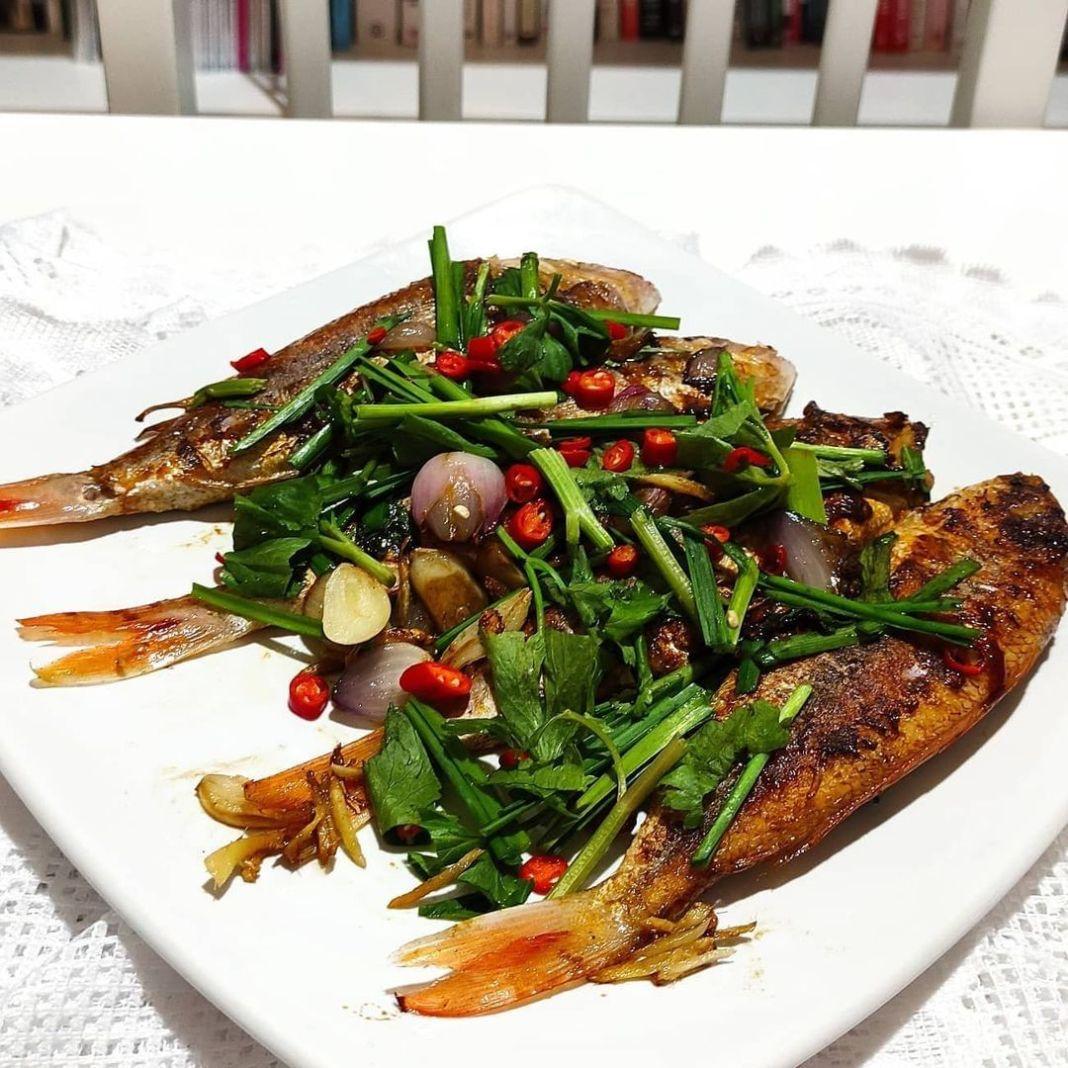 Info kuliner, Ikan Kerisi Goreng Teflon  Bahan: – 4 ekor ikan kerisi cuci bersih – 1 sdt garam  – 1 jeruk nip…