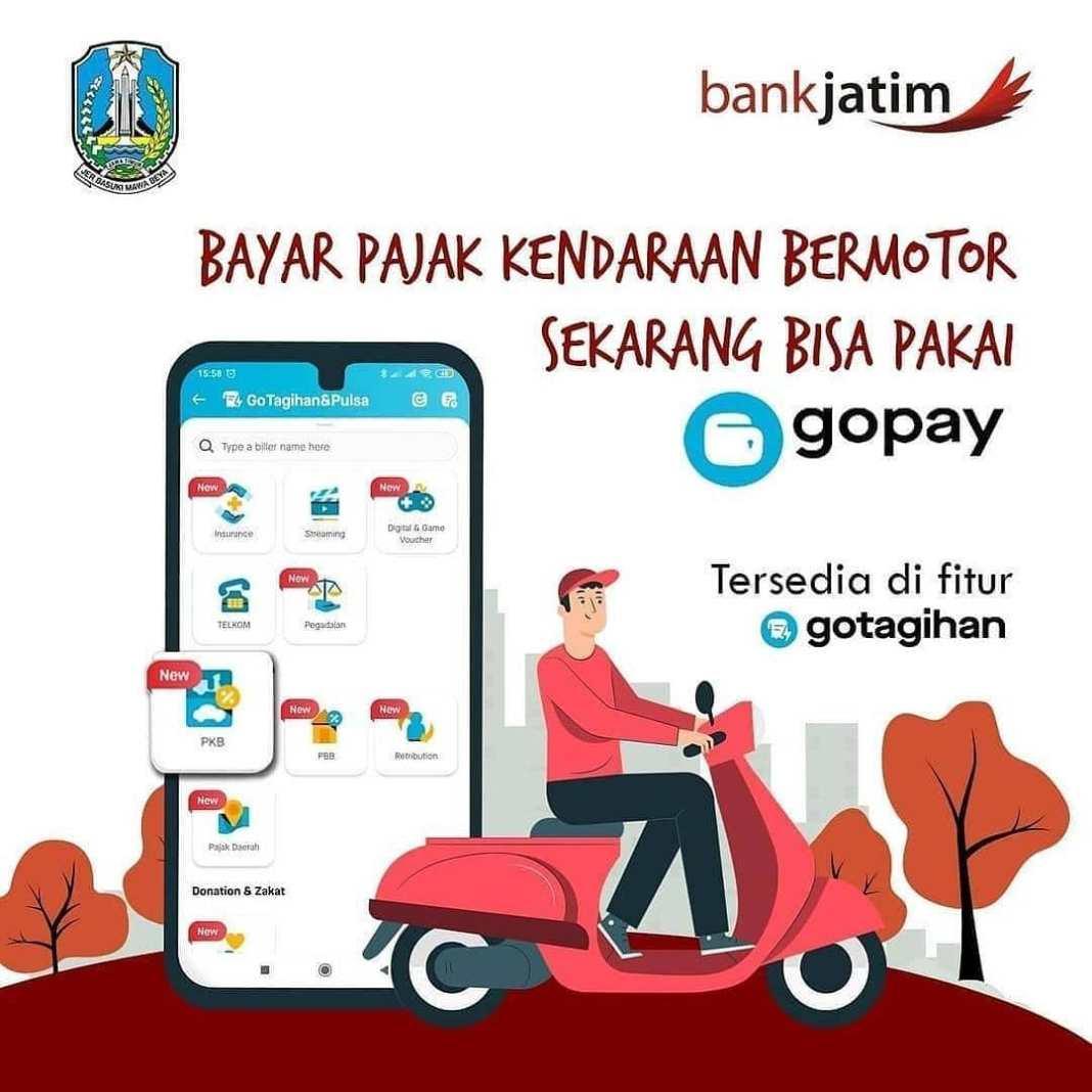 Halo sobat wajib pajak, sekarang pembayaran pajak kendaraan tahunan juga dapat melalui GoPay. Ba…