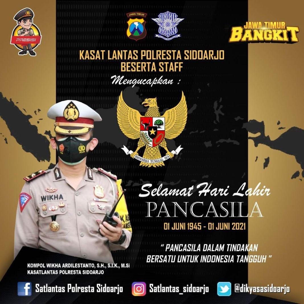 Pancasila lahir menjadi simbol negara Indonesia sebagai perwujudan dari keberagaman yang ada, J…