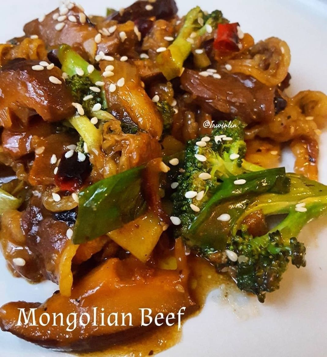 Info kuliner, Masak simple serta cepat tapi pengen dapat enak serta sehat? Why not..   Mongolian Beef  Bahan : 250…