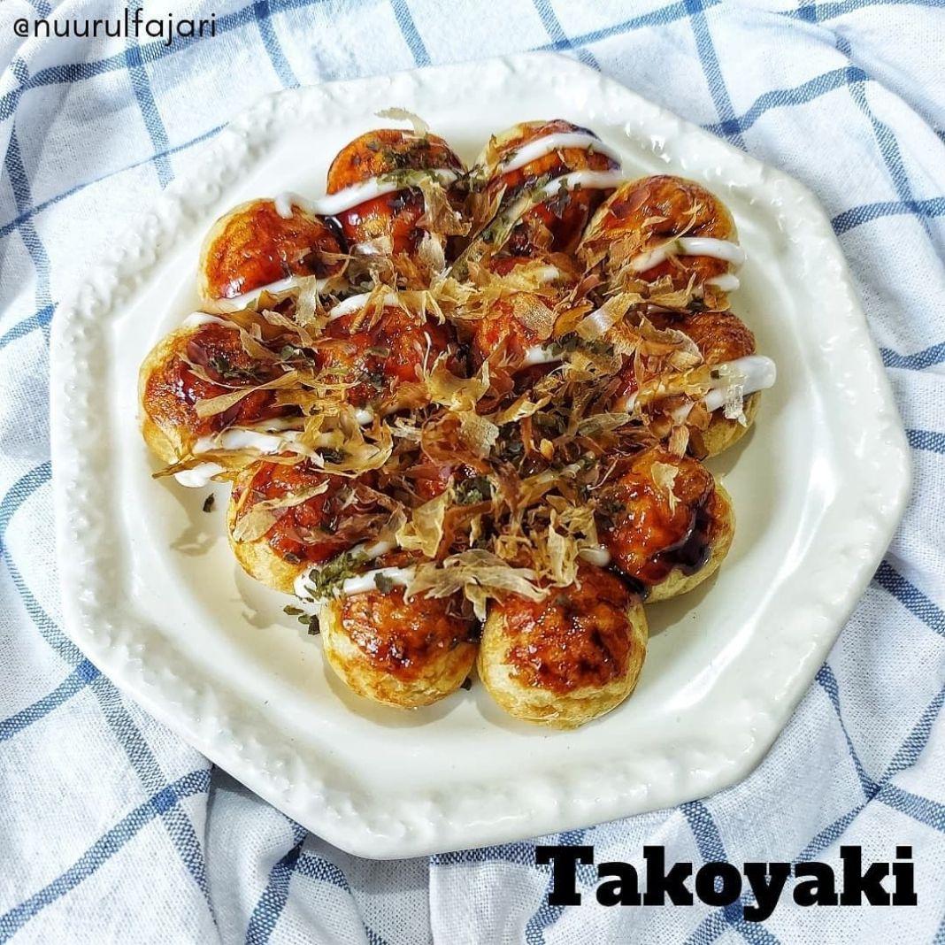 Info kuliner, Takoyaki  Udah berkali-kali bikin masakan yang satu ini serta tetap suka untuk selingan. Apalag…