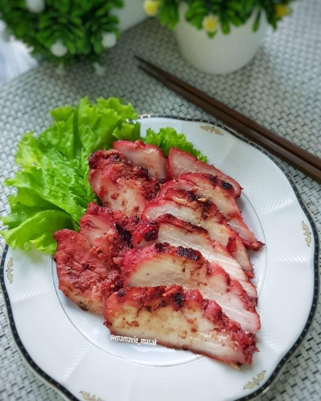 Info kuliner, AYAM CHARSIU MADU #charsiuchicken #ayamcharsiu_mv #chinesefood  1/2 kg dada ayam 2 sdm madu 5 s…