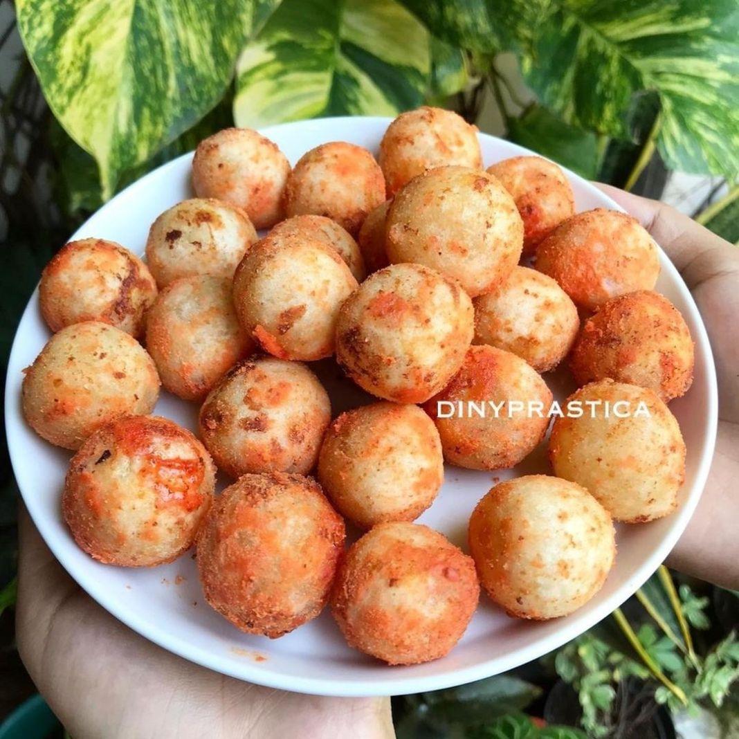 Info kuliner, CIMOL KEJU Bahan – bahan :  16 sdm tepung tapioka 1 sdm tepung terigu  1 siung bawang putih  Ai…