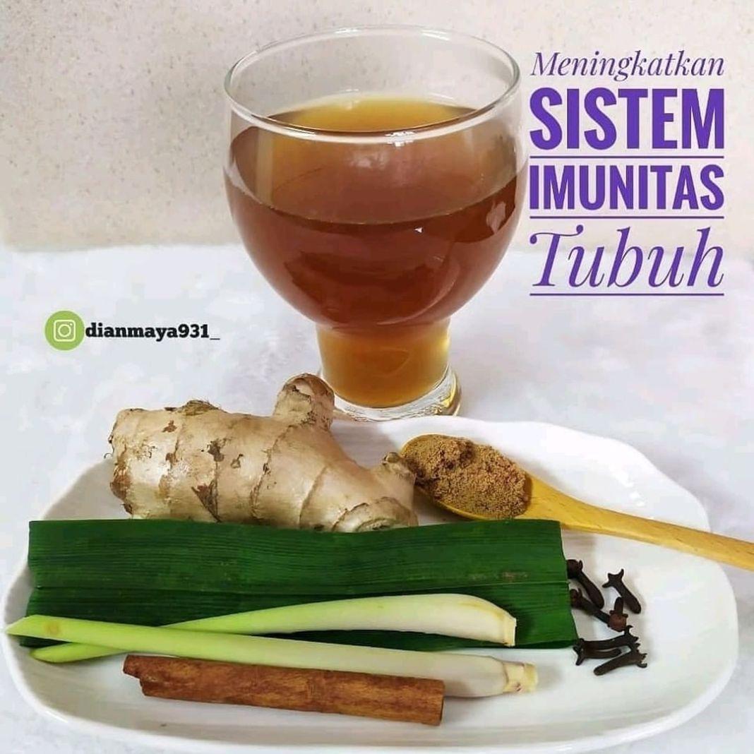 Info sehat, Reposted from @dianmaya931_ . Bismillah. . _  Minuman meningkatkan sistem imunitas tubuh  …